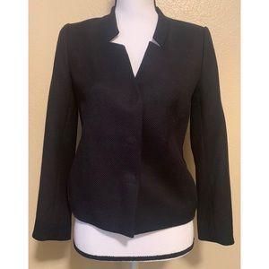 Classiques Entier XS wool mix navy blazer